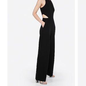 Express side cut out jumpsuit medium